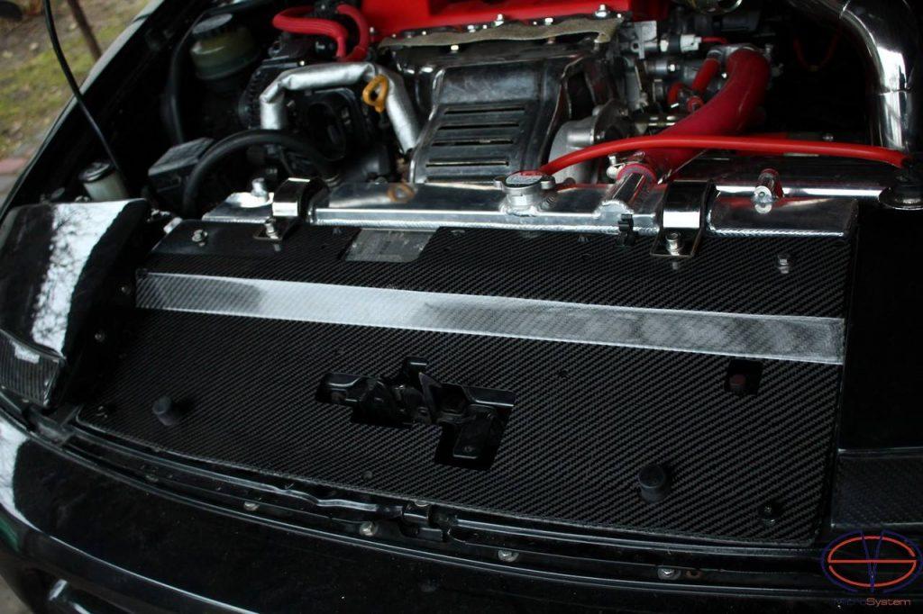 Toyota Celica ST182 ST185 GT4 Carbon Fiber radiator panel