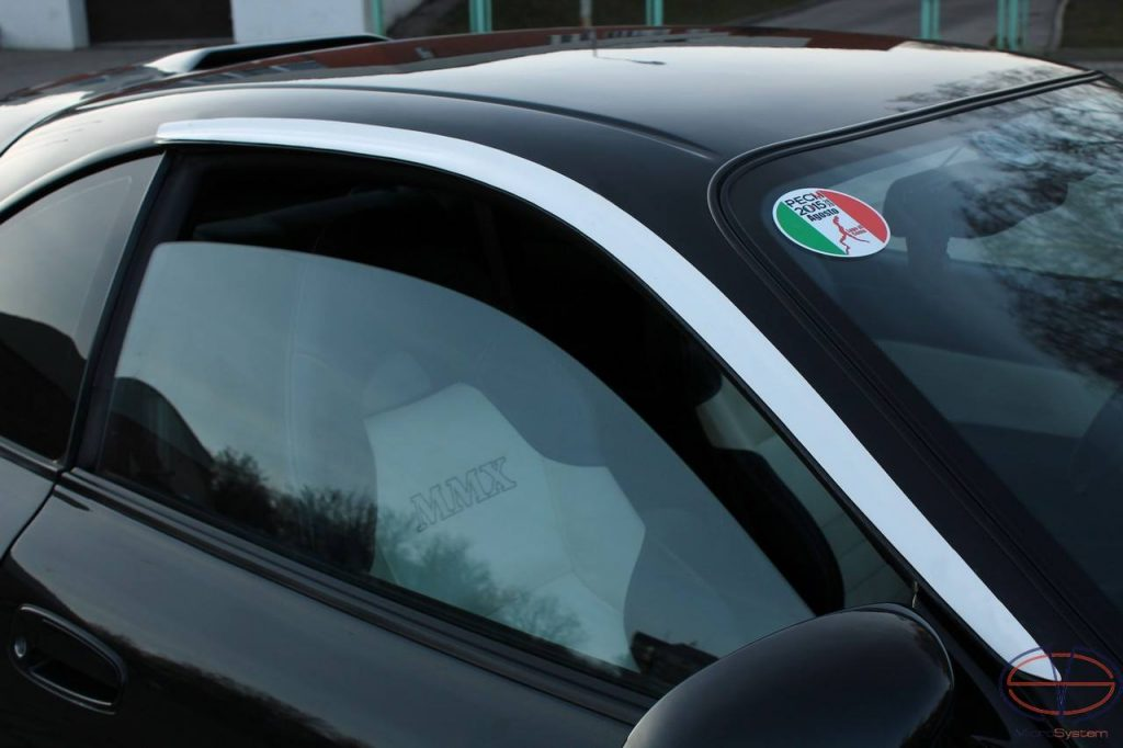 Window Wind Deflectors from FiberGlass for TOYOTA Celica ST 18