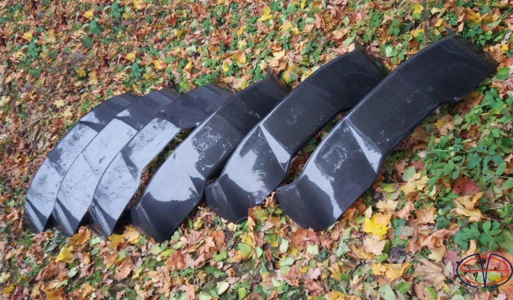 Carbon fiber Spoilers