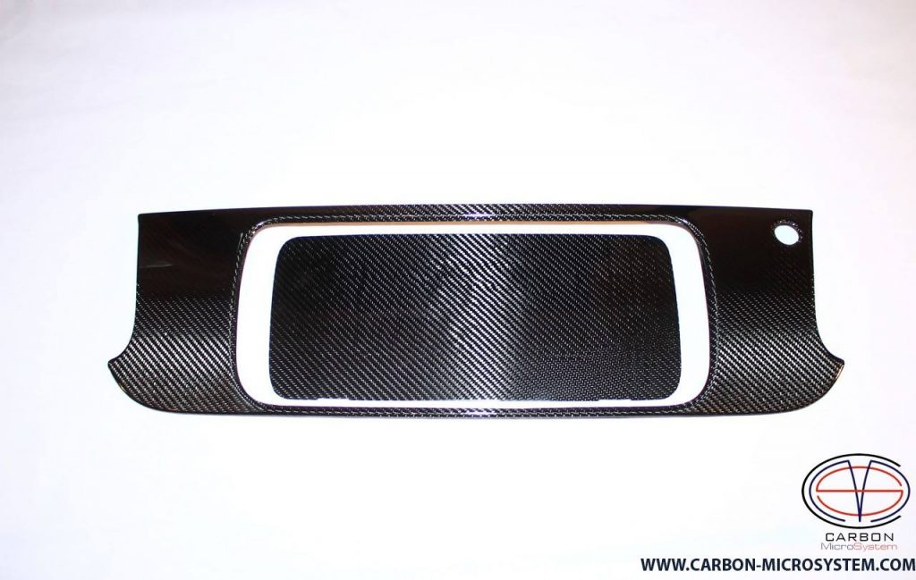 Carbon Fiber number panel surround for Toyota Celica st20