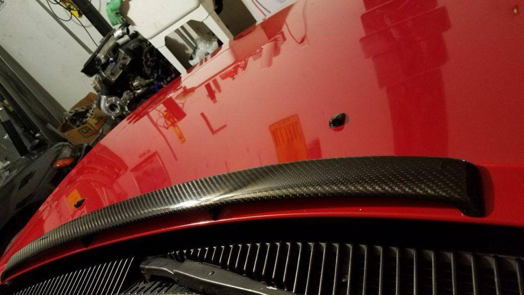 TOYOTA Celica ST18 GT4 Carbon Fiber bonnet spoiler