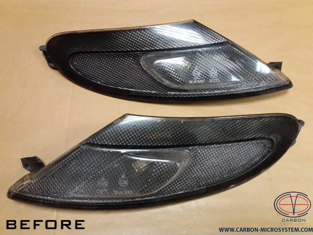 TOYOTA Celica ST182, ST183, ST185 GT4 Carbon Fiber corner lights surround