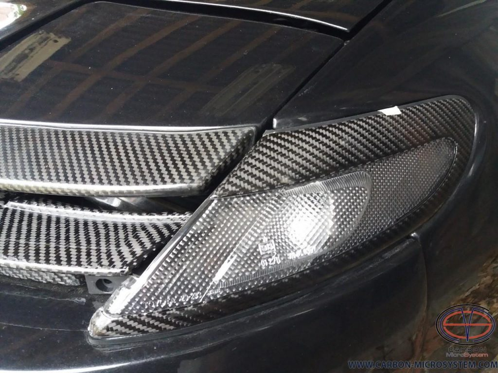 TOYOTA Celica ST182, ST183, ST185 GT4 Carbon Fiber corner lights surround