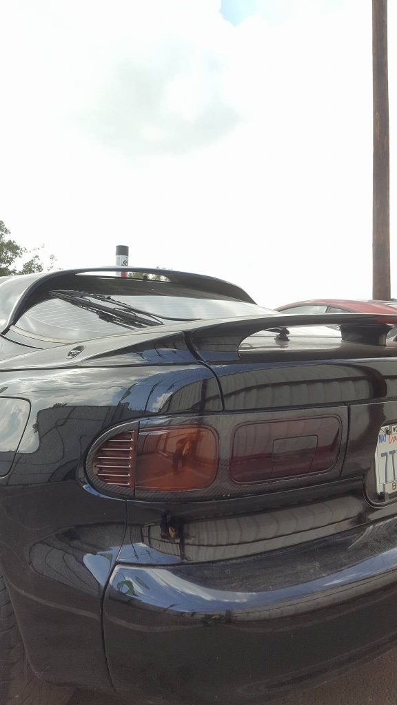 TOYOTA Celica ST182, ST183, ST185 GT4 Carbon Fiber rear lights surround