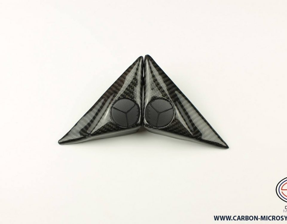 Toyota Celica ST18 Carbon fiber door speaker covers