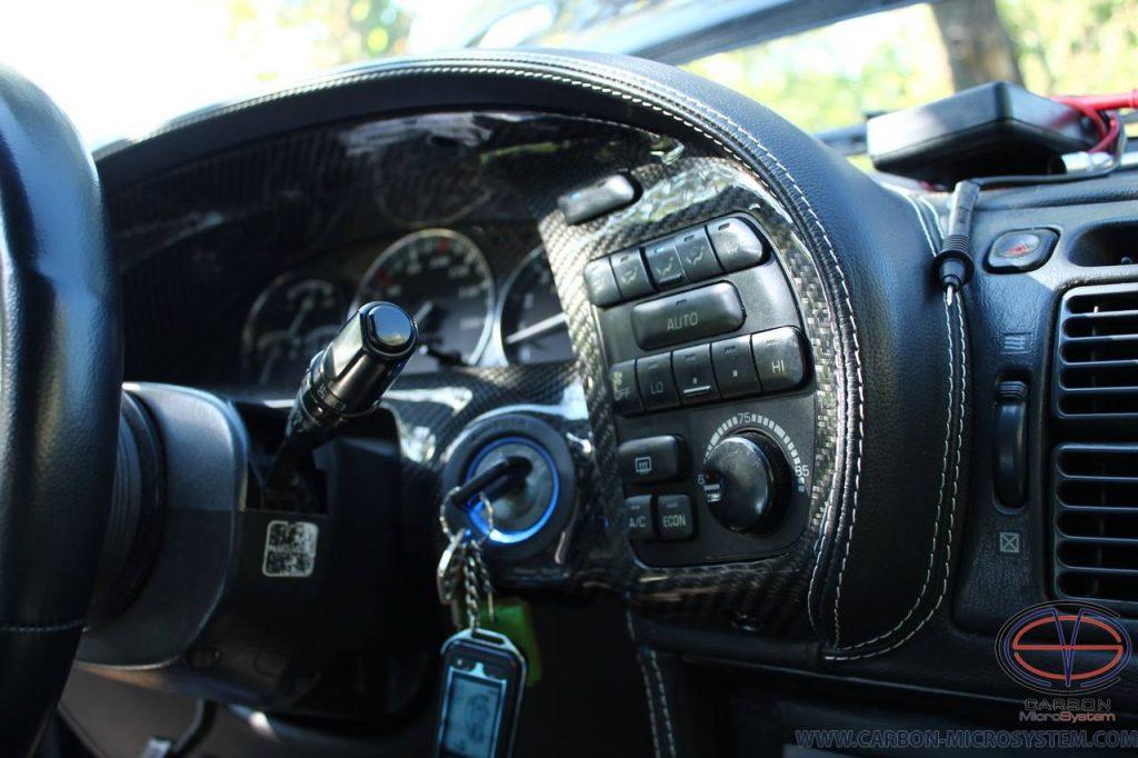 Toyota Celica ST18 Carbon fiber gauge cluster trim