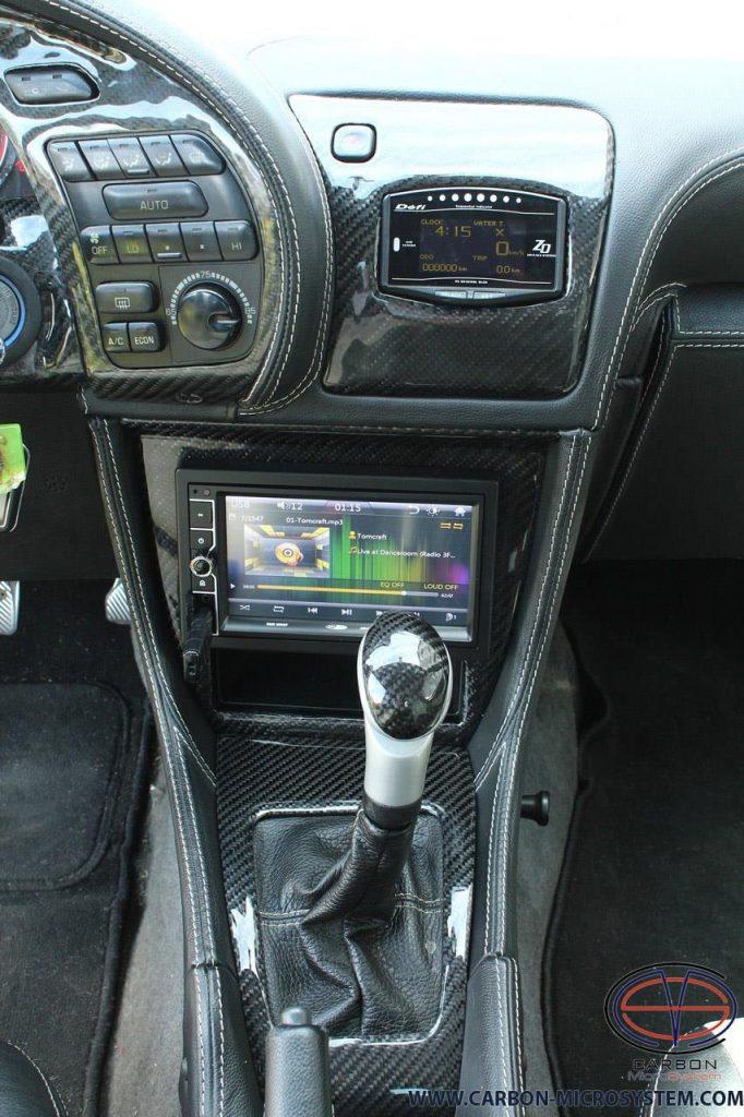 Toyota Celica Gen5 Carbon fiber Interior
