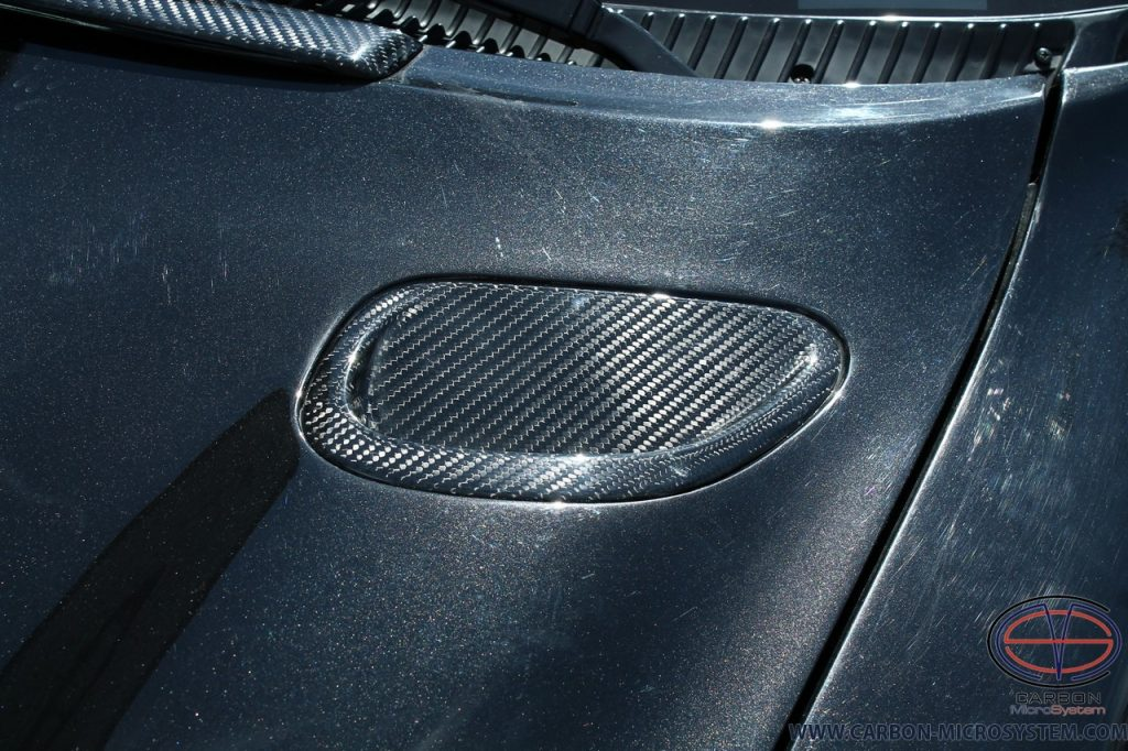Carbon Fiber inserts in hood for Toyota Celica ST185 Carlos sainz