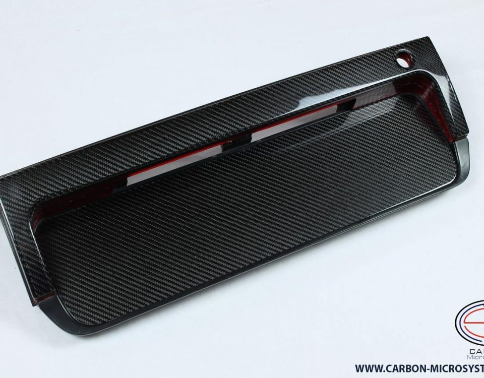 TOYOTA Celica ST180, ST182, ST185, GT4 Carbon Fiber Number panel surround (Long number plate)
