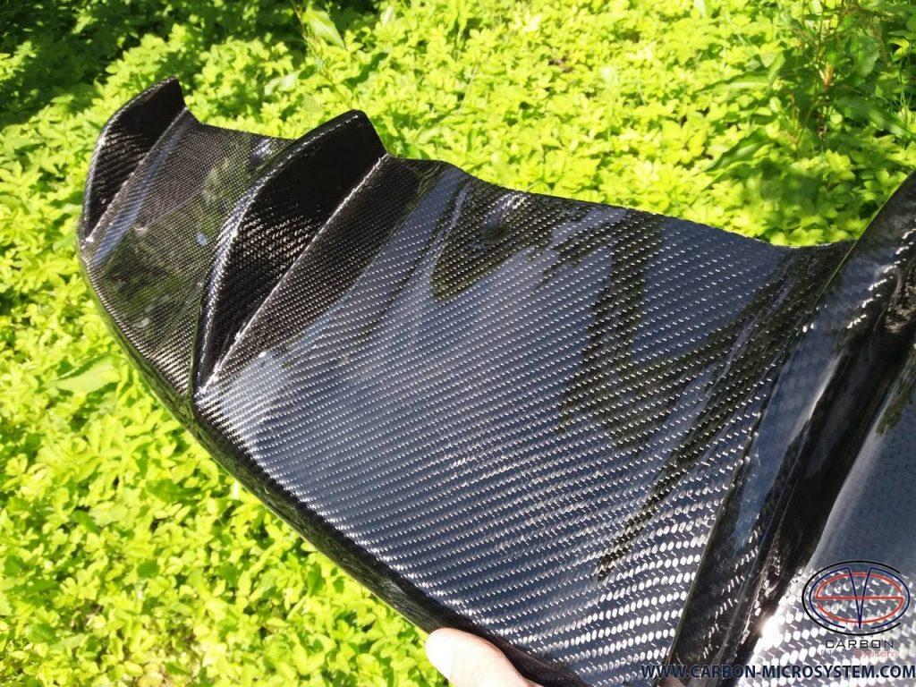 Carbon fiber Rear diffuser for BMW X6 E71