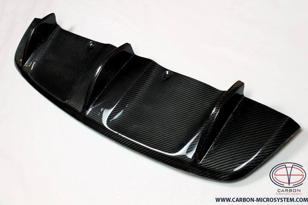 Carbon fiber Rear diffuser for BMW X6 E71