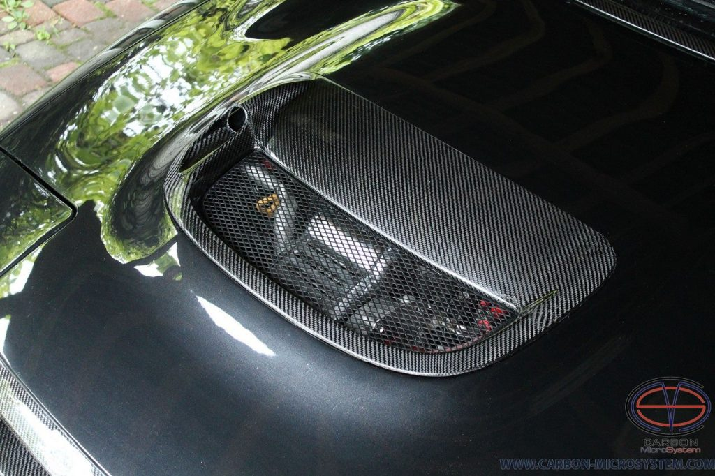 Carlos Sainz Bonnet Hood Scoop from Carbon Fiber - Toyota Celica St18, Gen5
