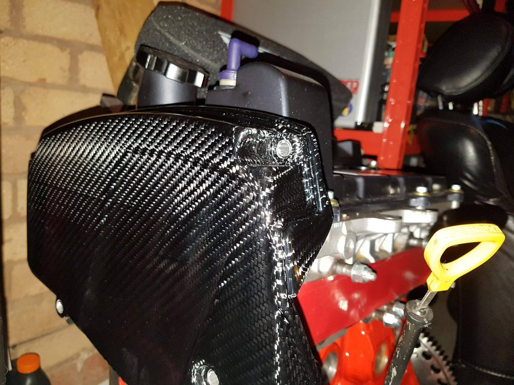 3S-GE Engine with Carbon Fiber Timing belt cover