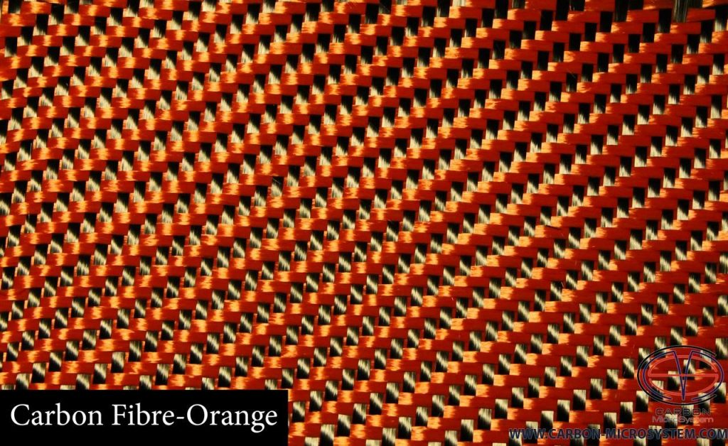 Carbon-fibre Orange