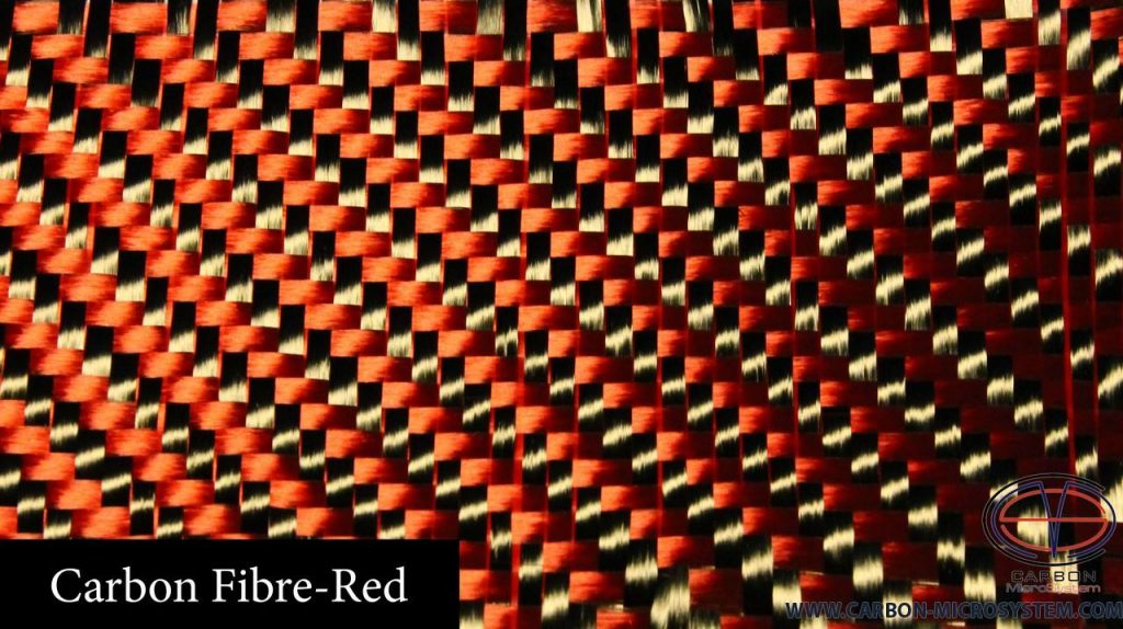 Carbon-fibre Red