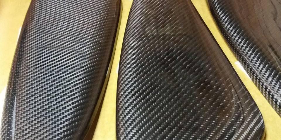 Carbon Fiber door inserts
