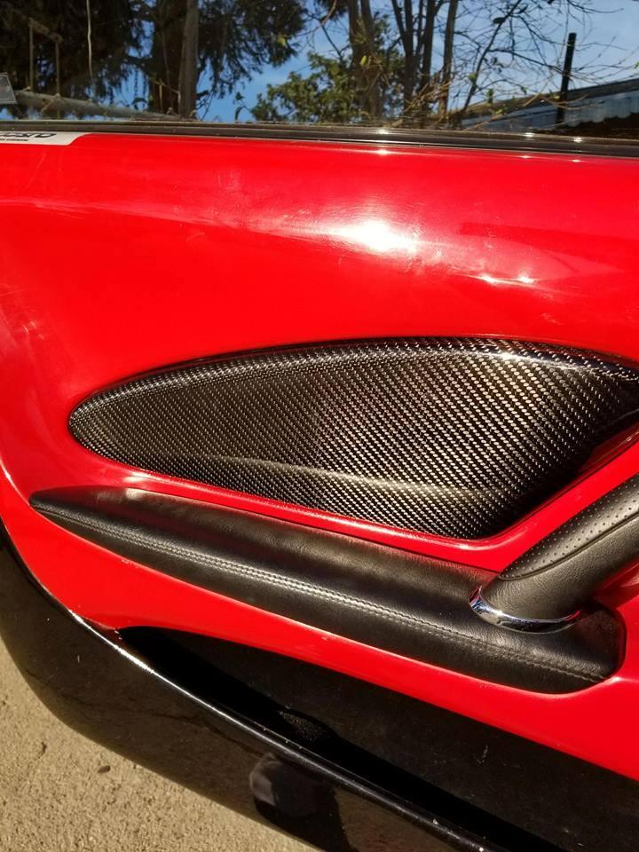 TOYOTA Celica t23 Carbon Fiber door inserts
