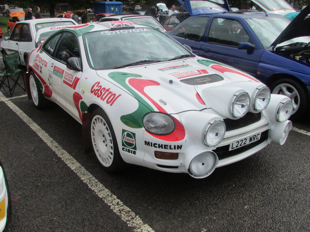 Toyota Celica ST205 TTE rally