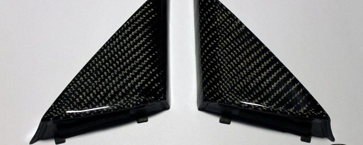Carbon fiber door panel, mirror bolt cover for Toyota Celica st20