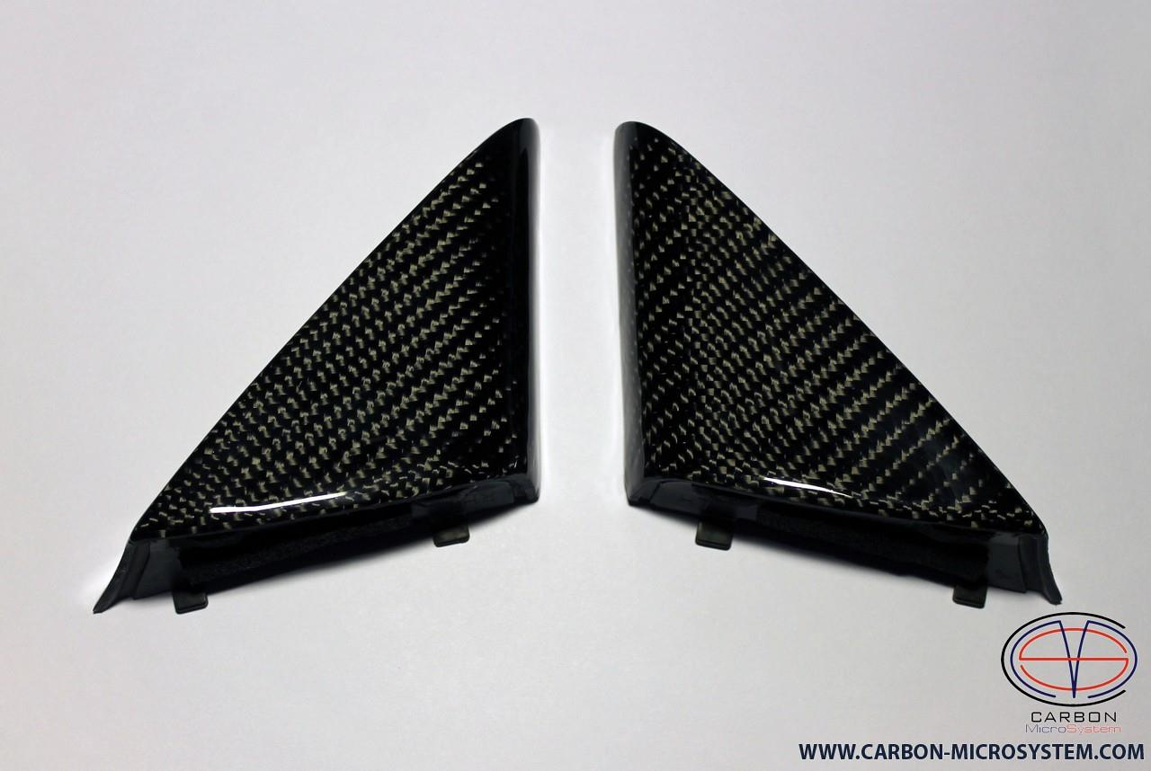 Carbon fiber door panel, mirror bolt cover for Toyota Celica st20