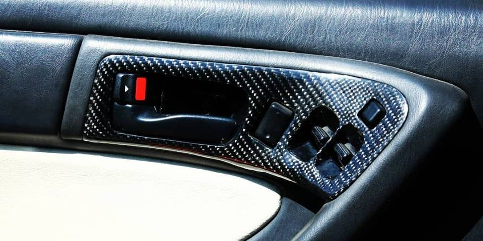 Car interior parts from carbon fiber for Toyota celica ST18