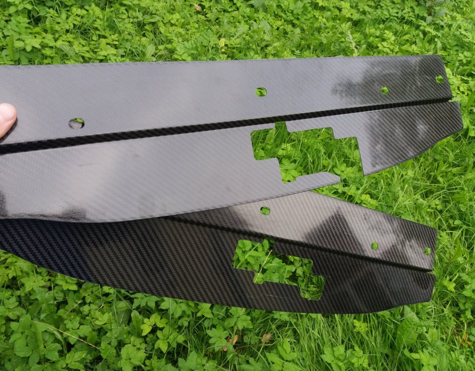 cooling panels from carbon fiber Celica st202 and st205
