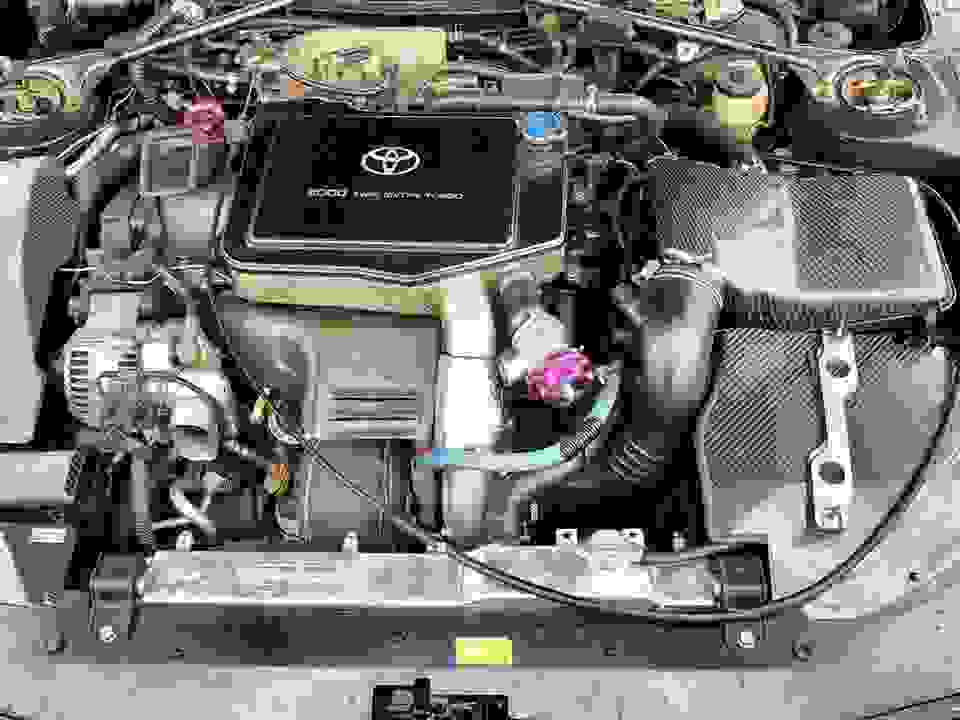 Engine bay Toyota Celica st205 st202