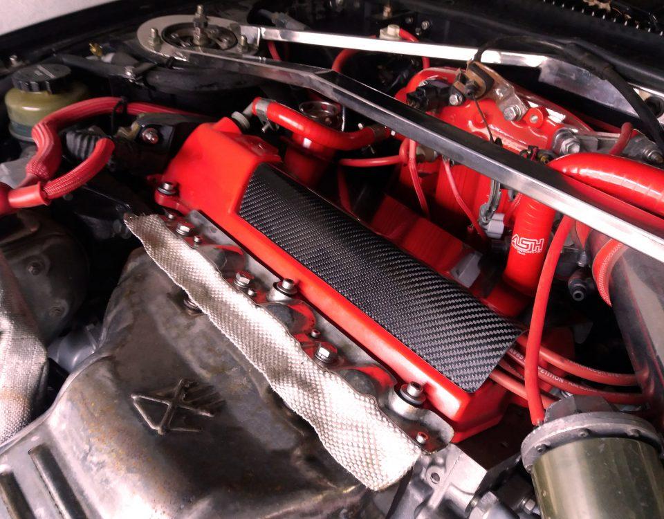 Carbon fiber Spark plug cover