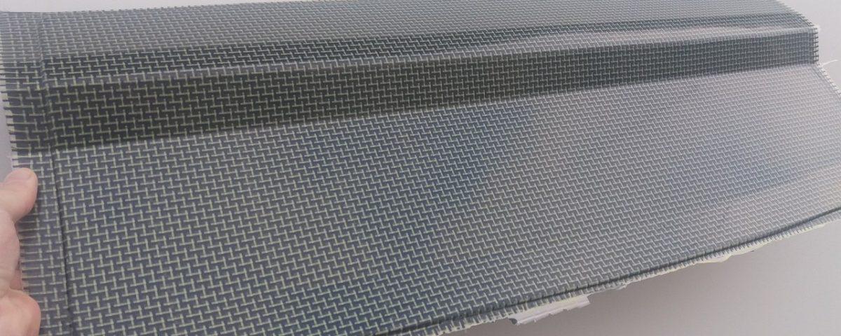 Carbon Kevlar Cooling panel