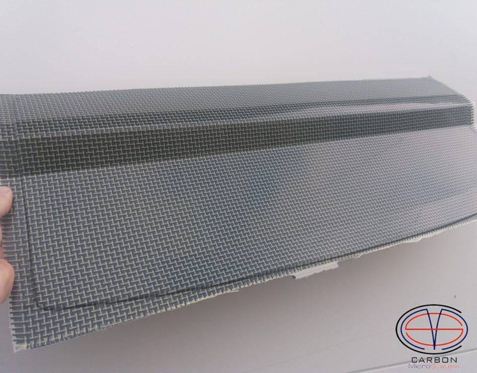Carbon Kevlar Cooling panel