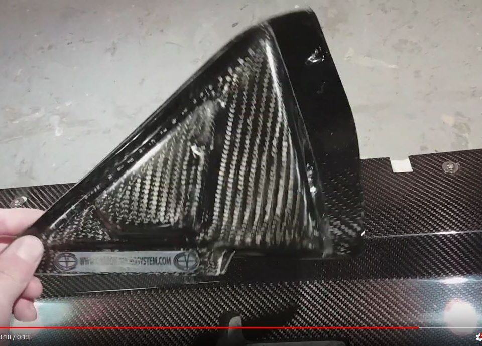 Mirrors for Rally from Carbon Fiber