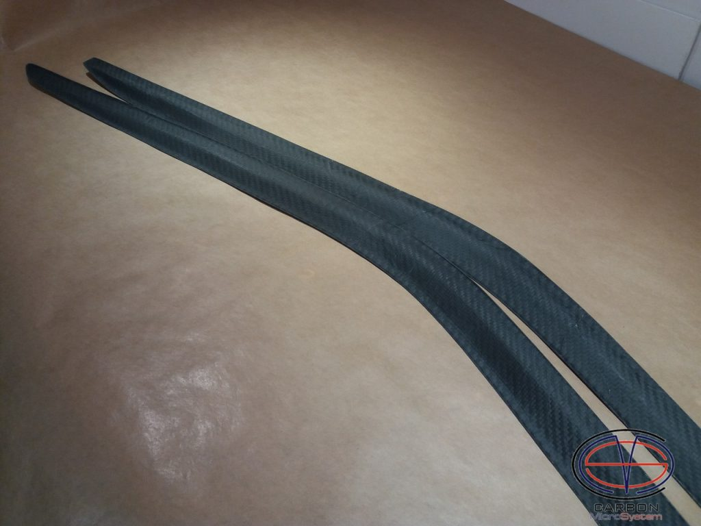 Window Wind Deflectors from Carbon Fiber
