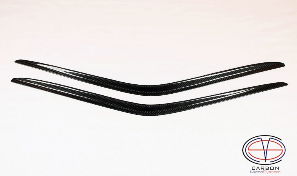 Window Wind Deflectors from Carbon Fiber for TOYOTA Celica st16