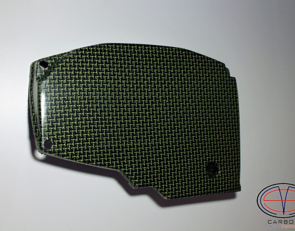 Kevlar-Carbon fiber Timing belt cover