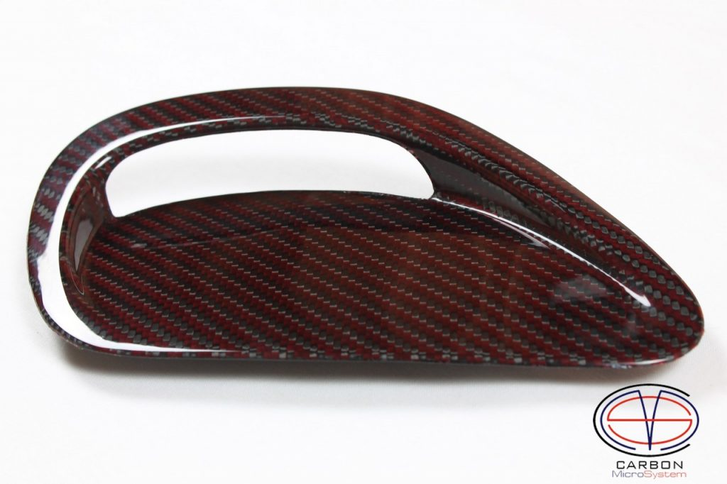 Inserts in hood from Red Carbon fiber for TOYOTA Celica