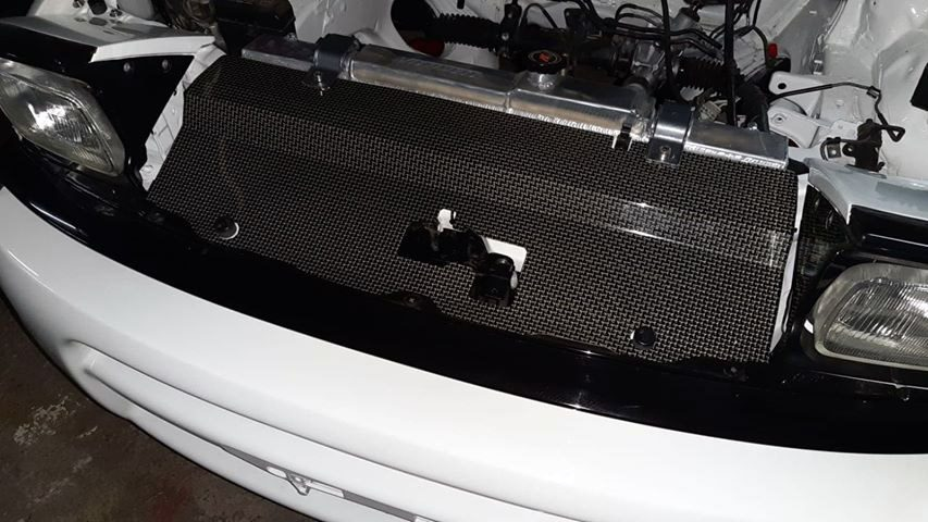Carbon-kevlar cooling panel