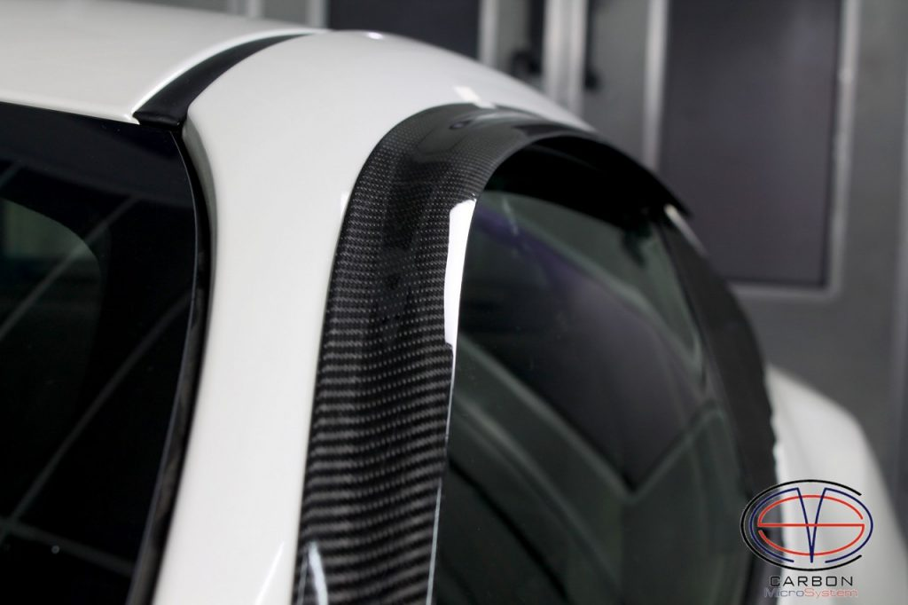 Window Wind Deflectorsfrom carbon fiber for Subaru BRZ, Toyota GT86, Scion FR-S