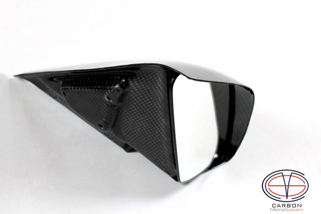 TTE Mirrors from Carbon Fiber