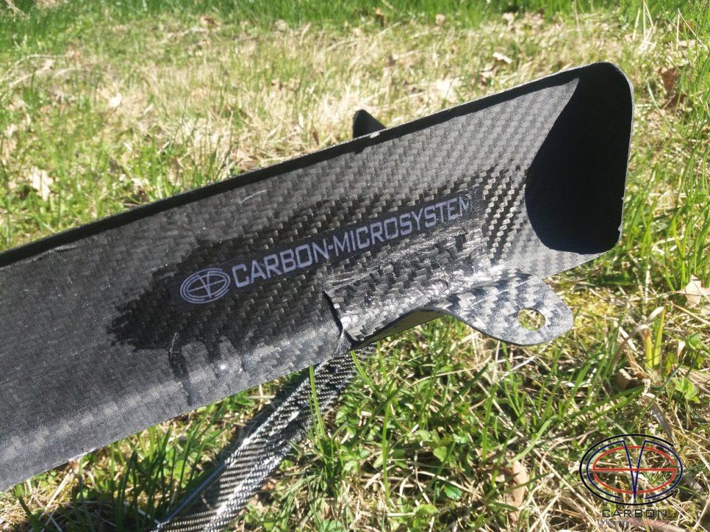 Front lip from Carbon Fiber for Levin/Trueno