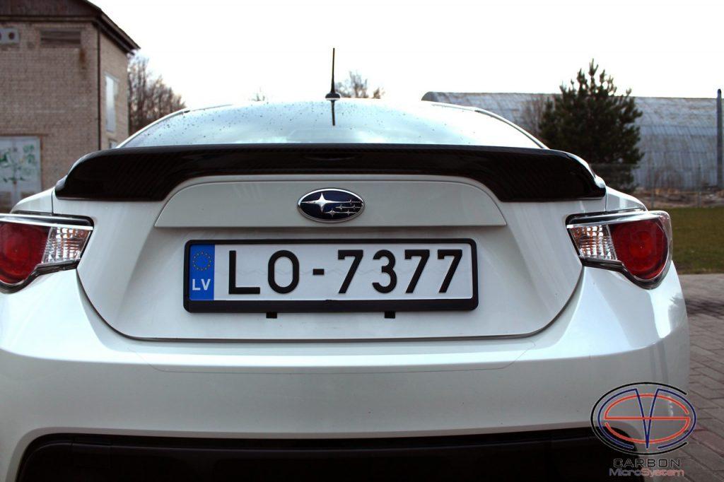 TRD Carbon Fiber Spoiler for Subaru BRZ