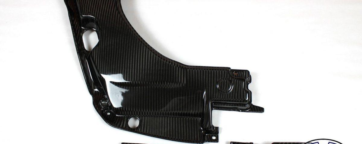 Carbon fiber Engine bay panels for TOYOTA Celica T23