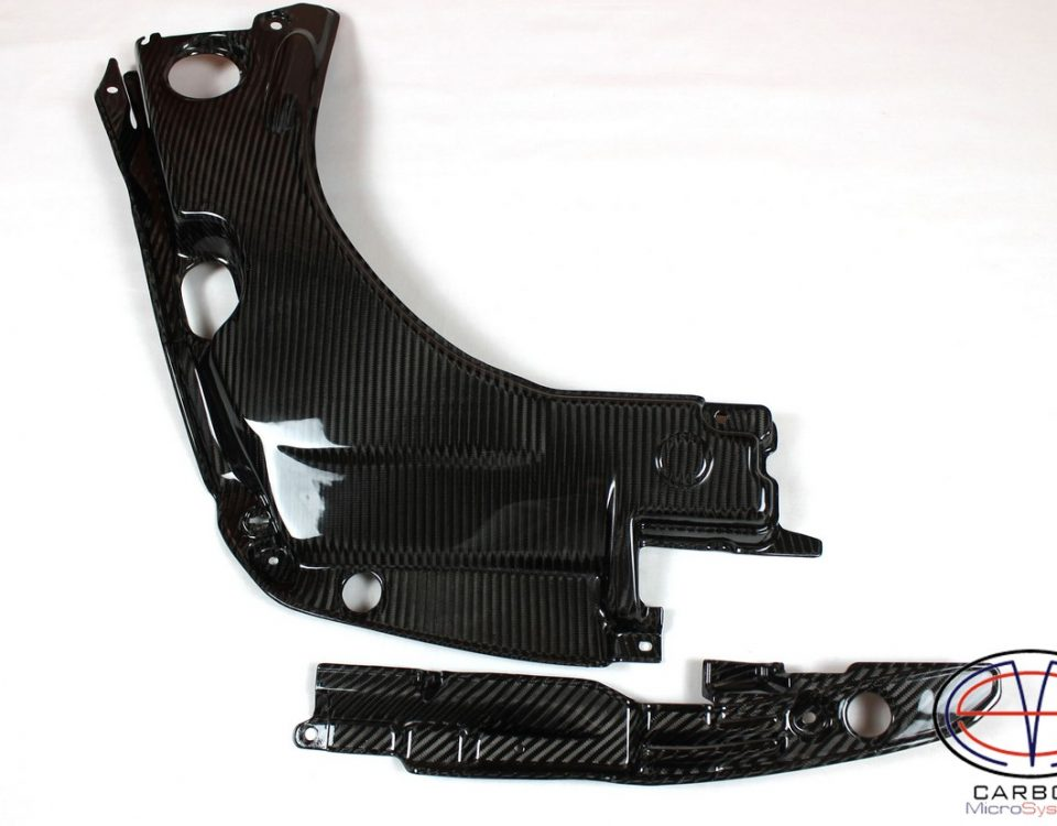 Carbon fiber Engine bay panels for TOYOTA Celica T23