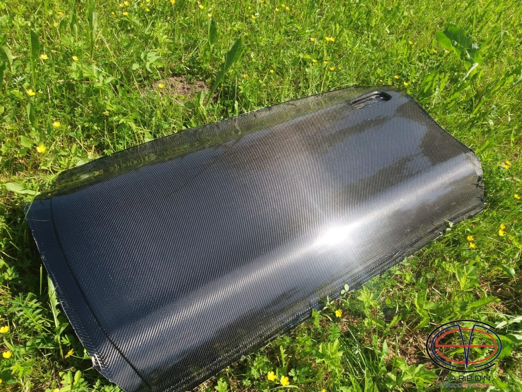 Carbon fiber door for Toyota Celica