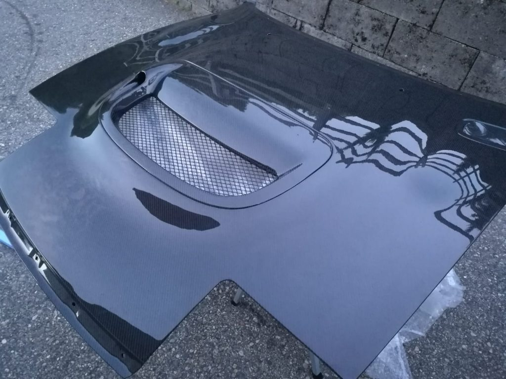 Carlos Sainz Hood from Carbon fiber