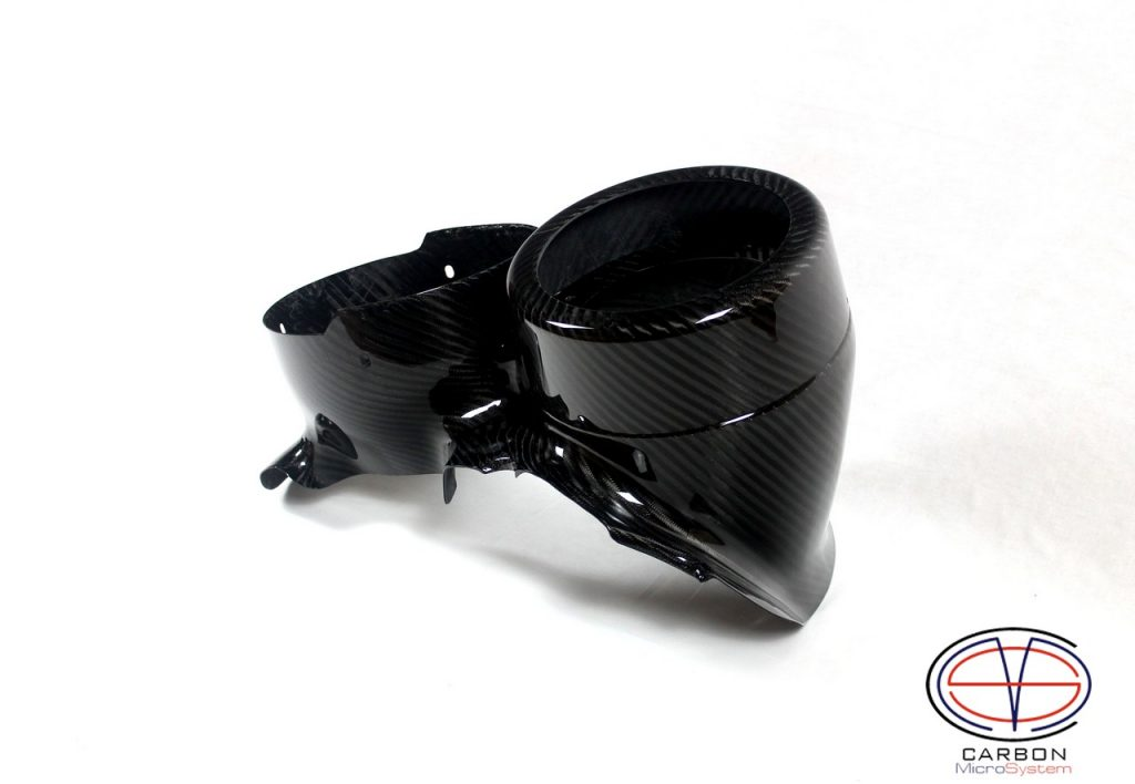 Carbon Fiber TTE rally light pods for TOYOTA