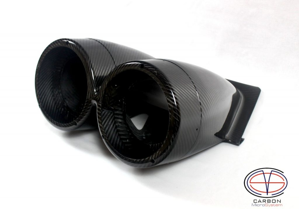 Carbon Fiber TTE rally light pods for TOYOTA Celica ST205 GT4