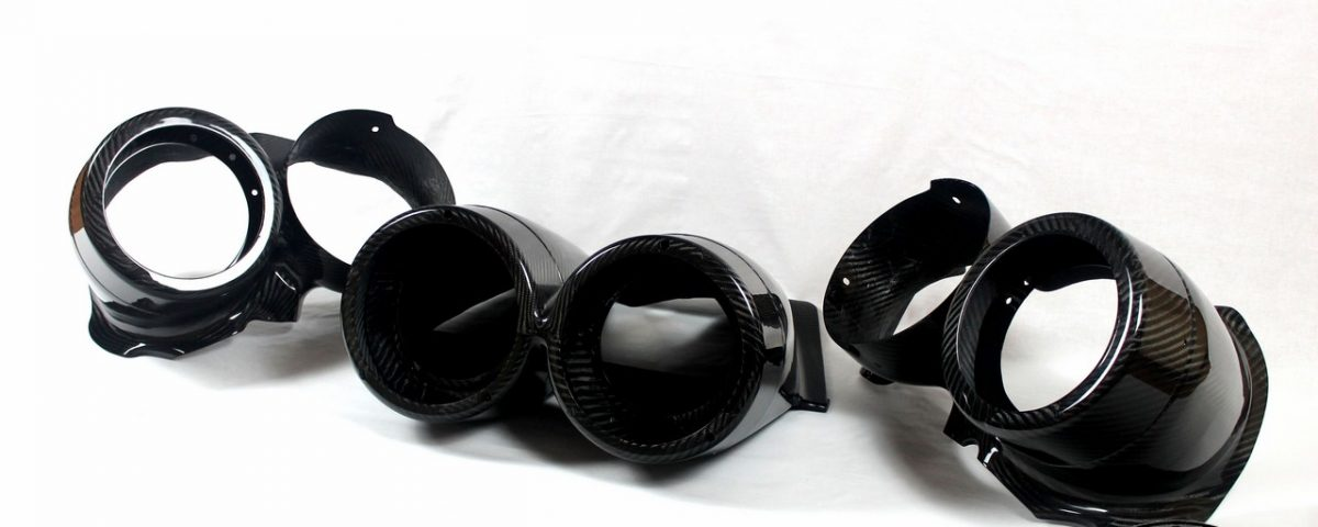 Carbon Fiber TTE rally light pods for TOYOTA Celica