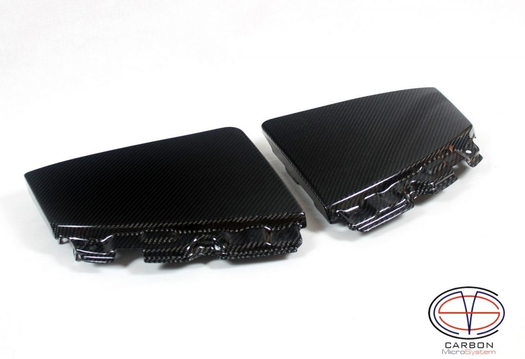 Carbon fiber headlight cover for Toyota Celica