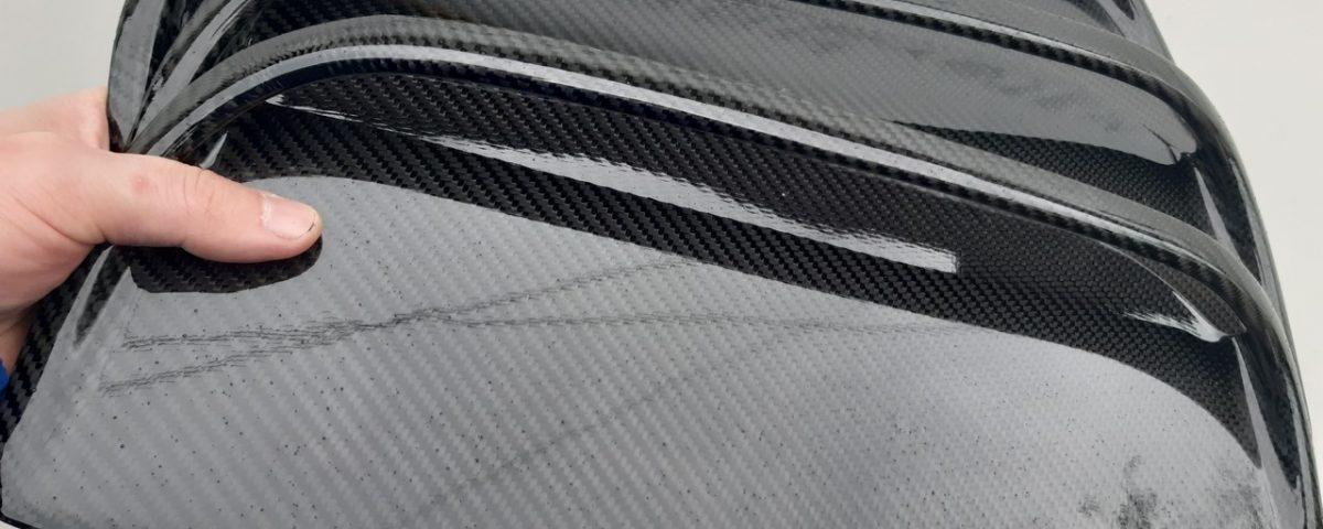 Carbon fiber hood scoop for Toyota Celica st185 GT4 bonnet