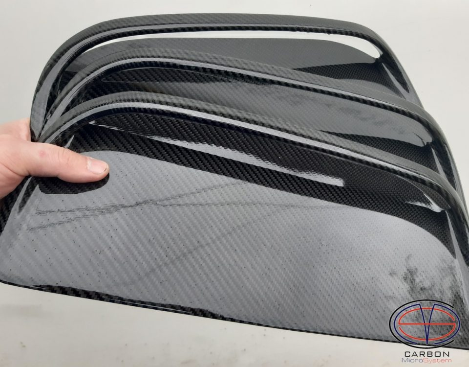 Carbon fiber hood scoop for Toyota Celica st185 GT4 bonnet